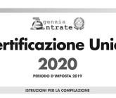 CU 2020: consegna e trasmissione prorogata al 30 aprile